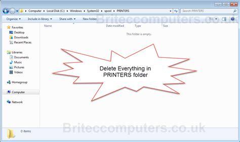 resetting printer spooler windows 10 how to reset the print spooler queue