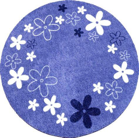 runder kinderteppich kinderteppich blau rund harzite