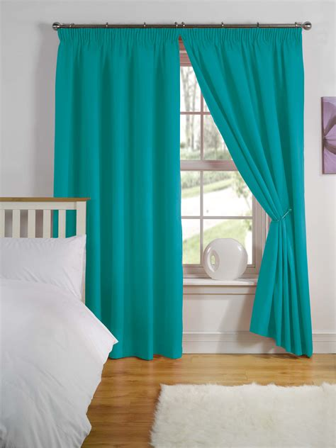 cheap teal curtains cheap childrens kids nursery blackout thermal lined boys