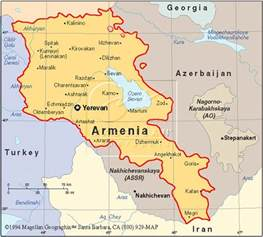 map of and armenia file armenia map jpg