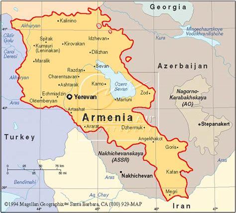 map of armenia reintegration center armenia the project recea