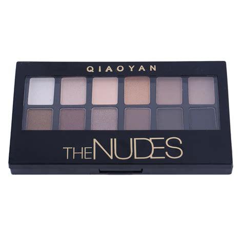 Naket 6 Make Up Set Dompet matte eye shadow professional cosmetic 12 colors make up set pallete eyeshadow