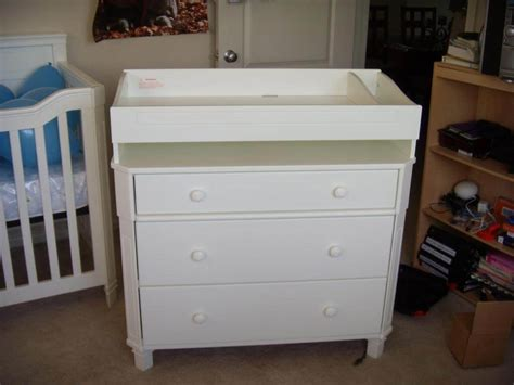 white dresser and changing how to convert changing dresser loccie better