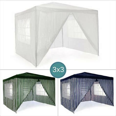 teli laterali per gazebo gazebo da giardino o per ceggio 3x3 con teli laterali