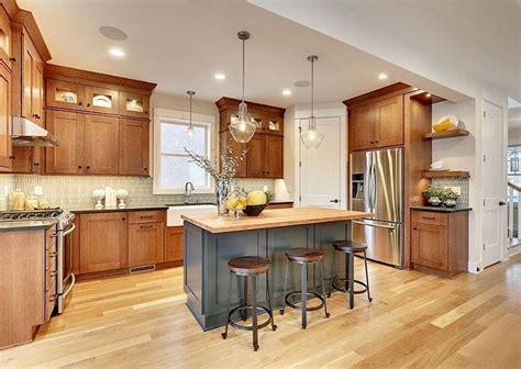 oak kitchen cabinets ideas decoration