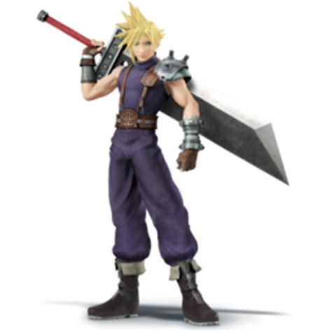 Amiibo Cloud Vii Smash Bros Series cloud ssb4 smashwiki the smash bros wiki