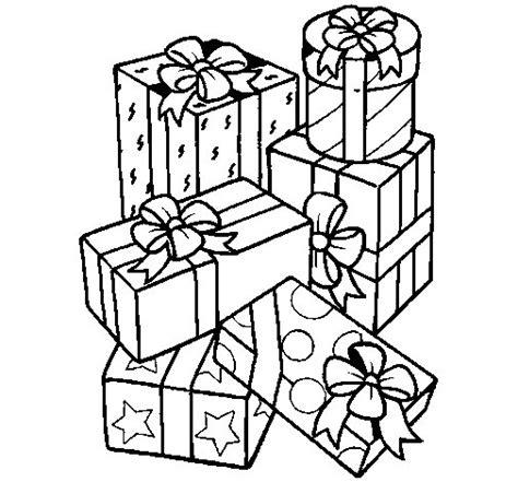 imagenes de navidad para colorear regalos dibujo de una monta 241 a de regalos para colorear dibujos net