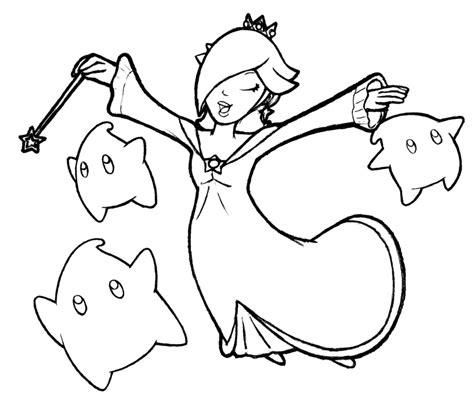Mario Coloring Pages And Rosalina Coloring Home Princess And Rosalina Coloring Pages