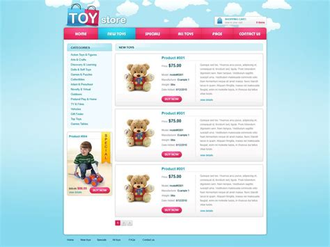 Free Ecommerce Website Template Free Online Store Templates Phpjabbers Web Ecommerce Templates