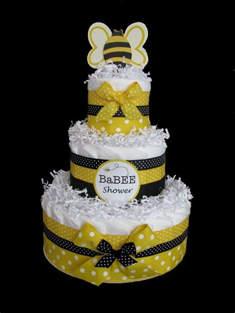 bumble bee 3 tier baby shower cake fiestas de
