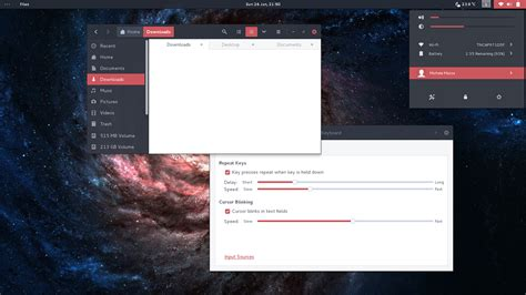 gnome gimp themes arc red gtk shell theme www gnome look org