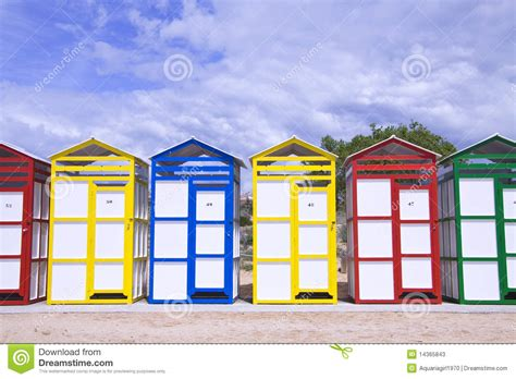 Colorful Cabins by Colorful Cabins Stock Photos Image 14365843