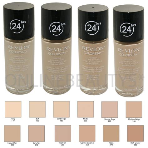 Revlon Colorstay revlon colorstay 24 hours skin foundation makeup 30ml