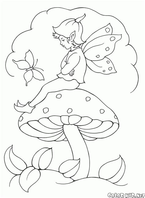 elf fairy coloring pages free elves and fairies coloring pages