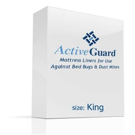 Mattress Liners by Active Guard Mattress Liner King Pest Supplies
