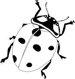 ladybug silhouette clip art 12
