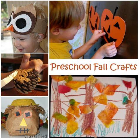 kid fall crafts preschool fall crafts