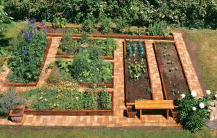 raised bed vegetable gardening easier gardening ideas