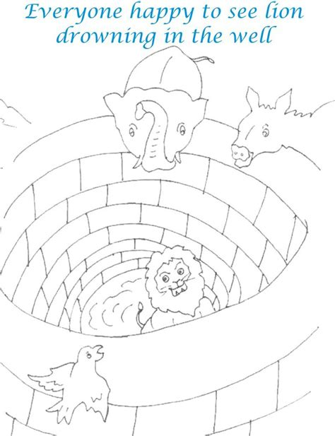 free coloring pages of wishing well