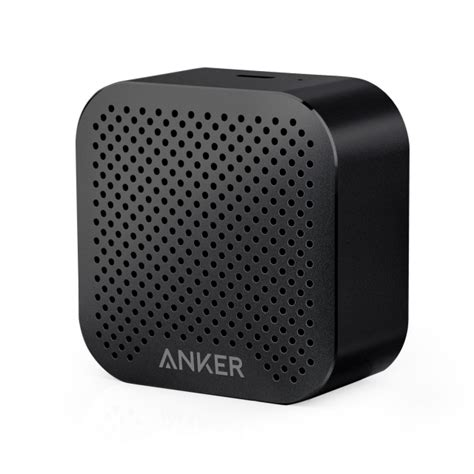 anker nano speaker anker soundcore nano bluetooth speaker black iclarified