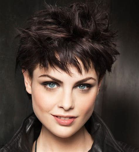 spiked hair with bangs 2016 bold pixie haircuts for women 2017 haircuts