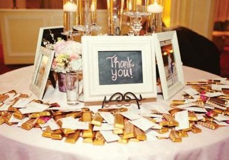 chocolate bar wedding favors