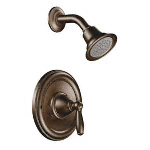 shop moen brantford rubbed bronze 1 handle watersense