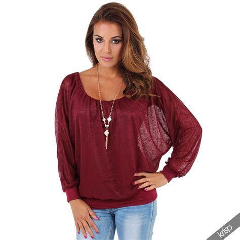 Topati Bawing Blouse oversize batwing chiffon blouse kimono top shirt necklace work ebay