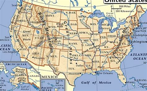 us map with rivers and mountains great lakes states outline map us map rivers mountains