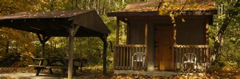 Blue Rock State Park Cabins by Blue Rock State Park