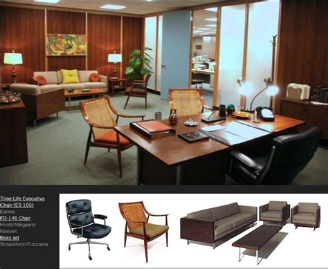 mad men furniture mad men furniture don draper s office via http