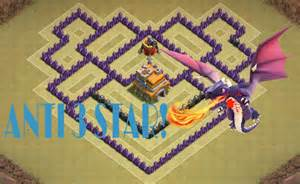 Speed build anti dragon base layout for th7 war strategy youtube