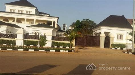 homes with detached guest house for sale for sale 8 bedroom detached house 2 bedroom guest house asokoro extension abuja asokoro