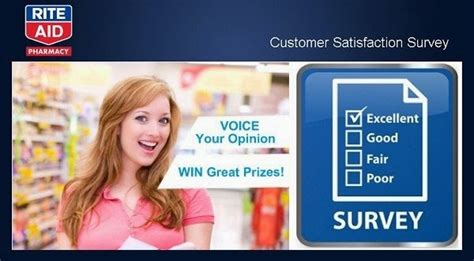 Pharmacy Surveys For Money - rite aid pharmacy survey voice of the customer sweepstakes sweepstakesbible