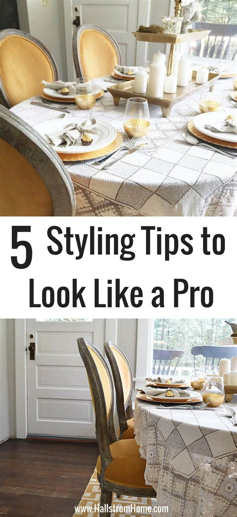 5 tips for small space styling the mine blog 5 easy tips for styling your dining room like a pro