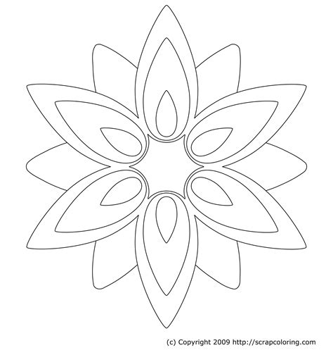coloring pages of small flowers flower page printable coloring sheets flower window