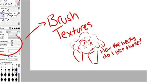 paint tool sai installation how to install brush textures in paint tool sai