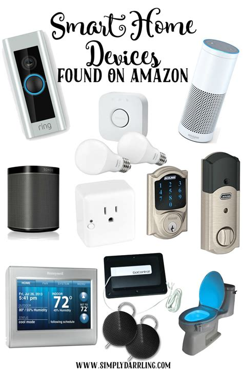 smart home devices awesome smart home devices found on amazon simply darr ling