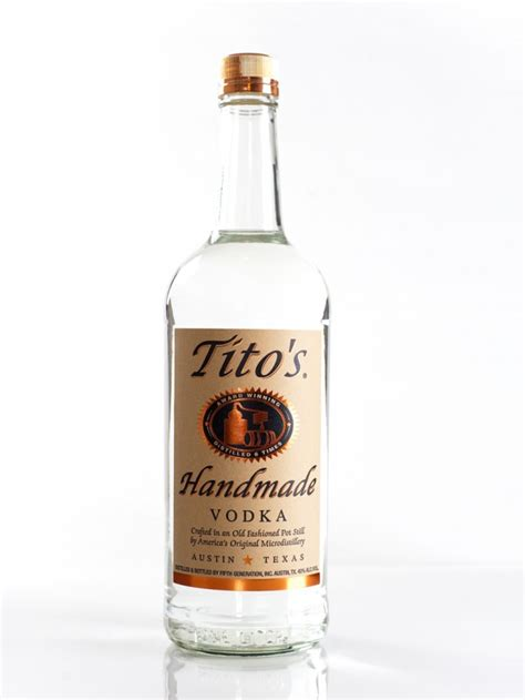 Titos Handmade - recommend me a 20 bottle of vodka page 2 ign boards