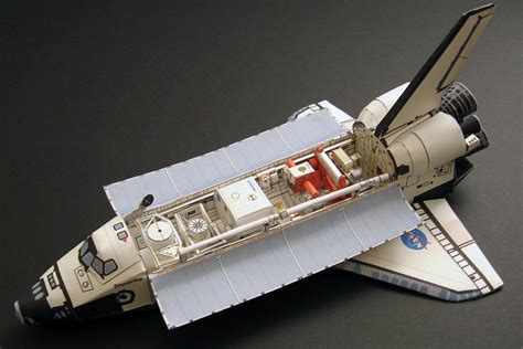 Paper Model - space shuttle paper model pics about space