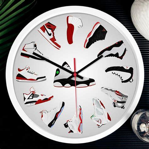 large luxury quartz wall clock nike air
