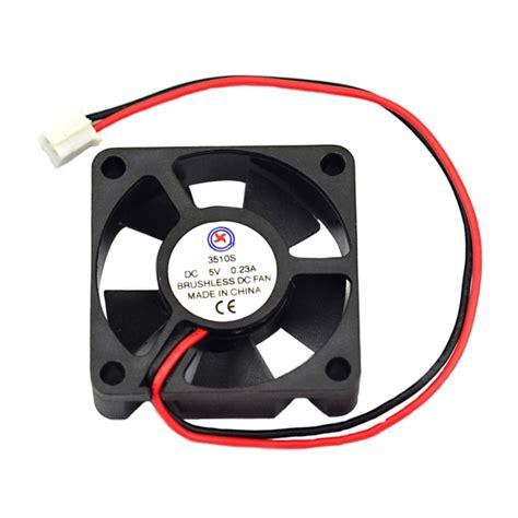 brushless radiator cooling fan jtron dc 5v 0 23a 3 5cm cooling fan fan cooled radiator