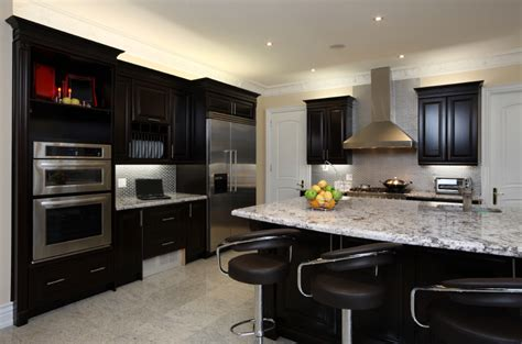 kitchen ideas dark cabinets magnificent kitchen designs with dark cabinets