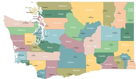 Property Records Washington State Our Regions Counties Washington State Building Business Legends