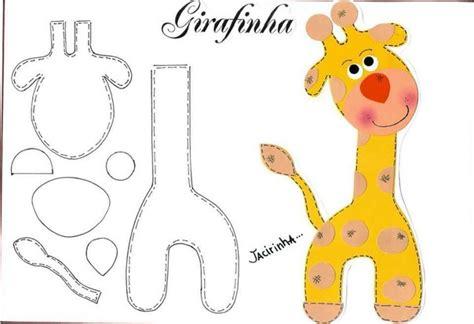 imagenes de jirafas en goma eva molde para hacer jirafas de foami paola pinterest