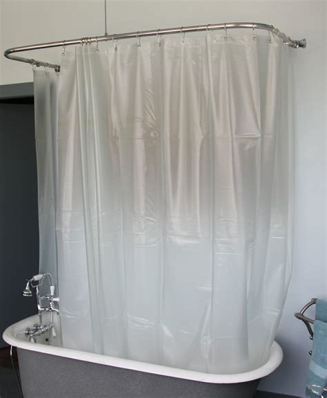 opaque shower curtain clawfoot shower curtain opaque less magnets