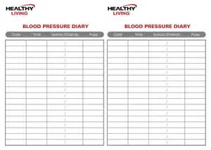 Chart Template by Blood Pressure Chart High Blood Pressure Chart
