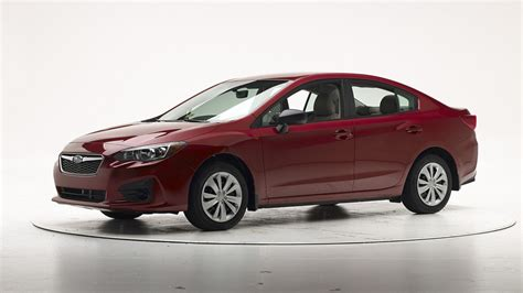 subaru impreza test 2017 subaru impreza retains top safety crown in iihs