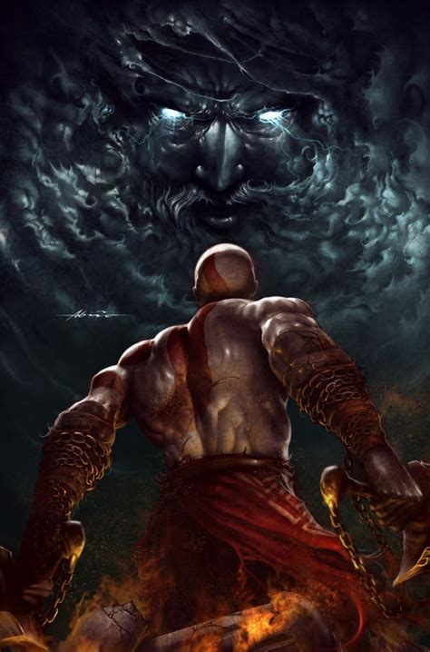 kratos vs zeus my style pinterest