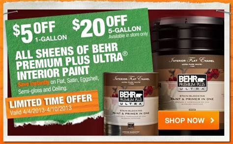 home depot paint sale behr home depot behr paint